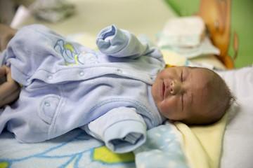 Изписване на бебе от родилно - Даниел