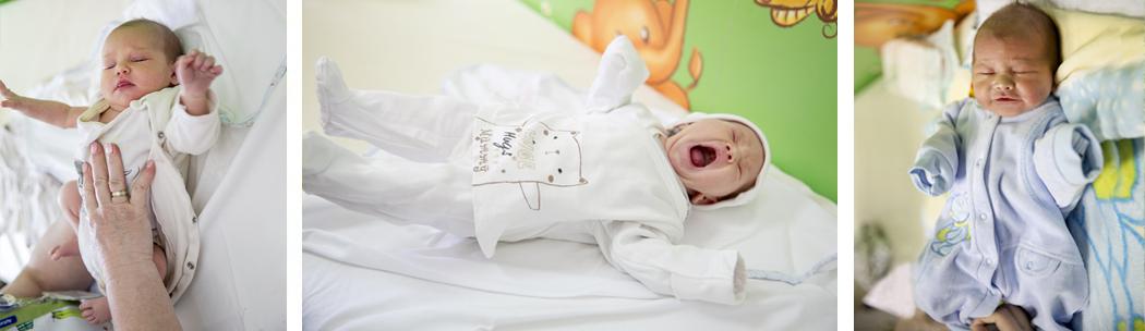 фотограф за изписване на бебе