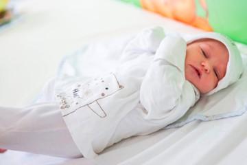 Изписване на бебе от родилно - Симона