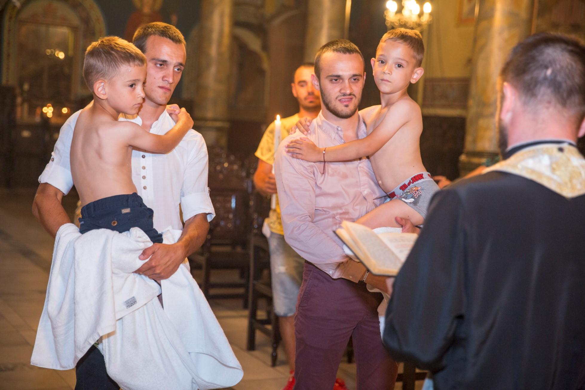 Свето Кръщение на Алекс и Митко