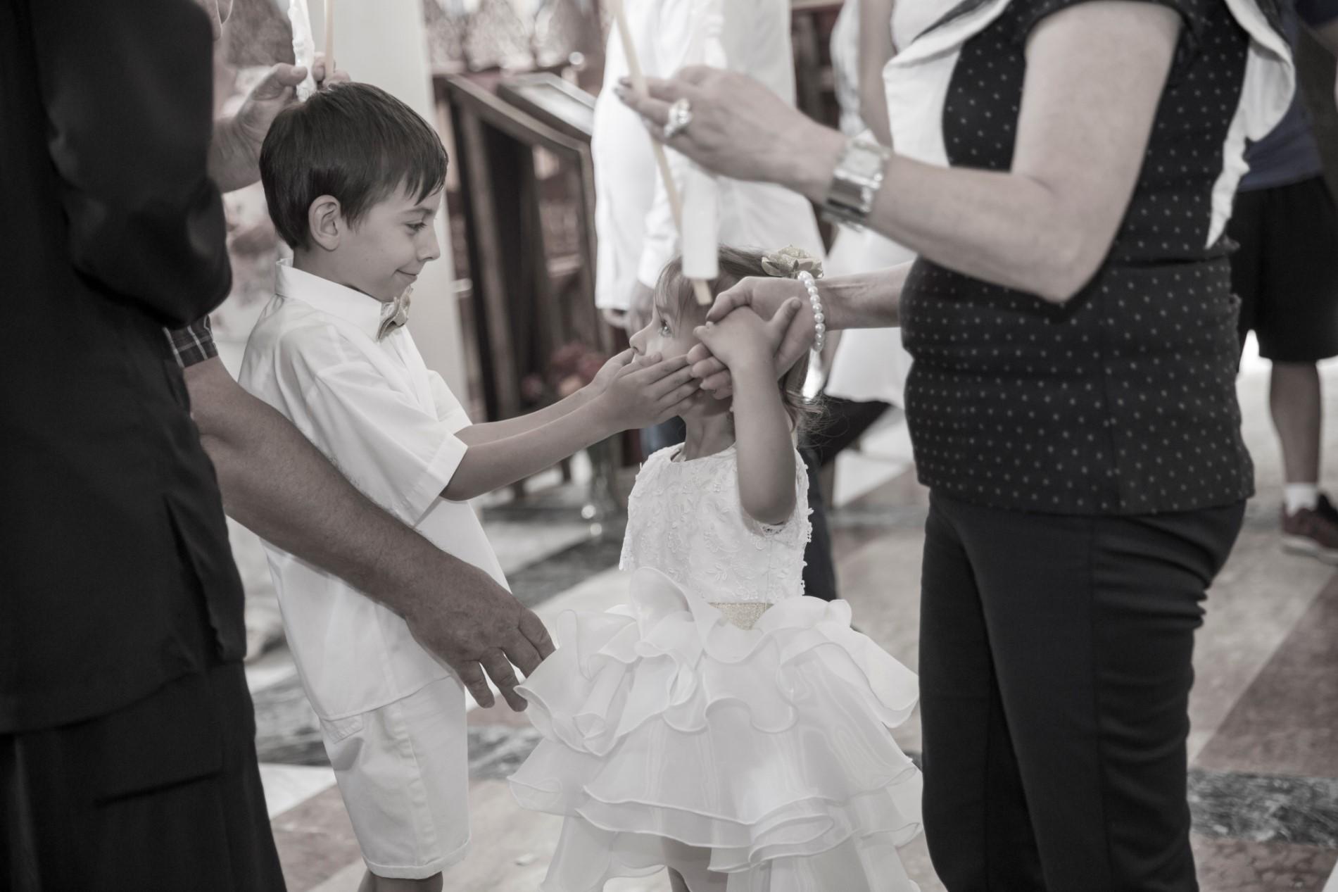 Заснемане на кръщене Русе - Свето Кръщение на Алекс и Вики