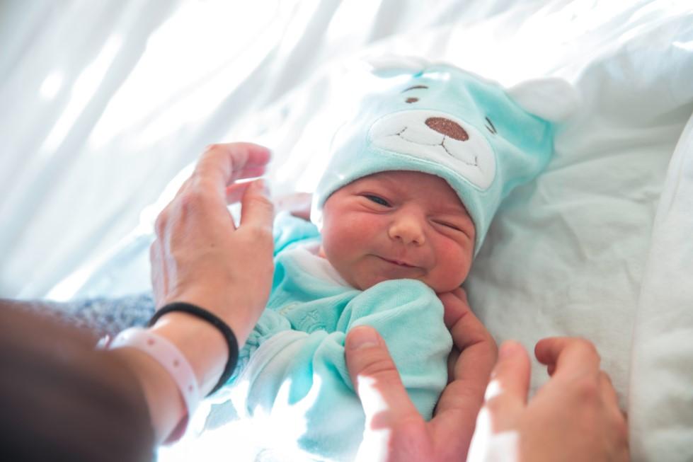 Изписване на бебе от родилно - Емили