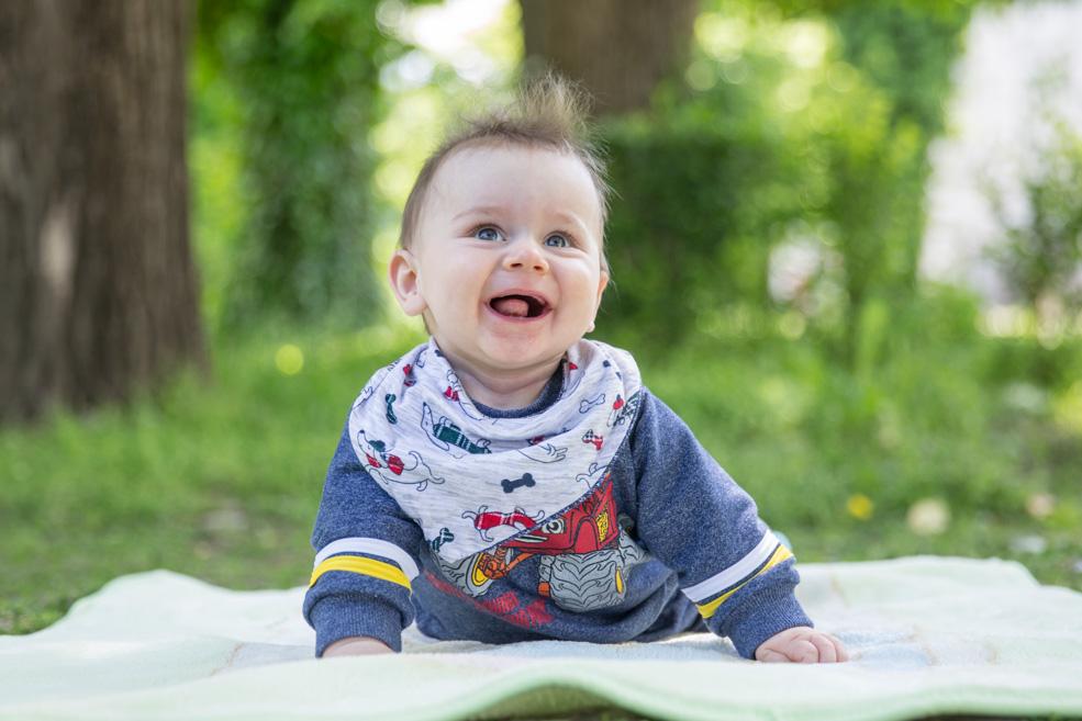 Детска фотосесия - Борис