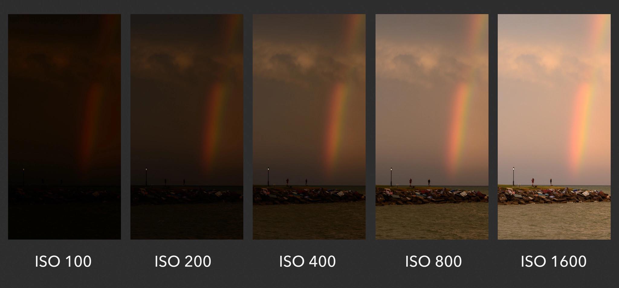 ISO настройка на фотоапарат