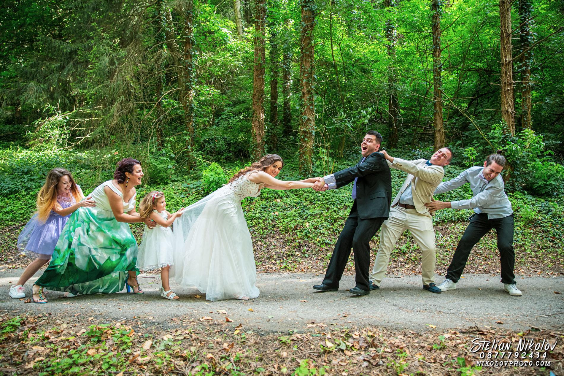 сватбен фотограф плевен цени